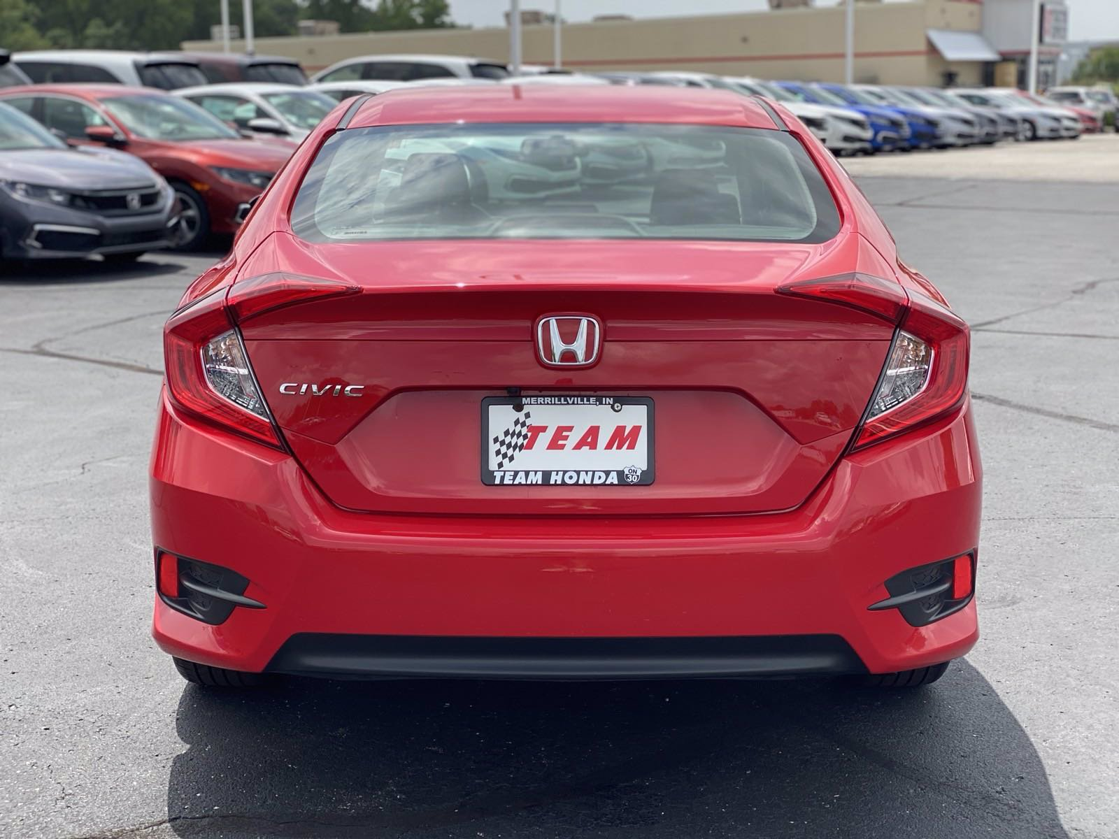 Pre-Owned 2017 Honda Civic Sedan LX