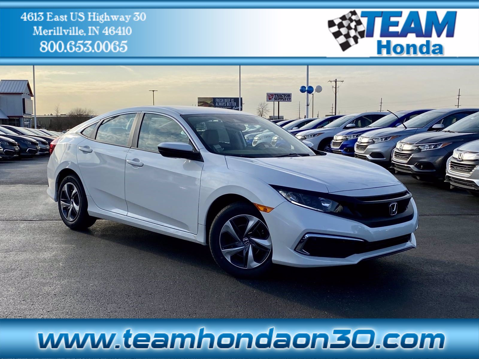 2020 Honda Civic Sedan LX FWD