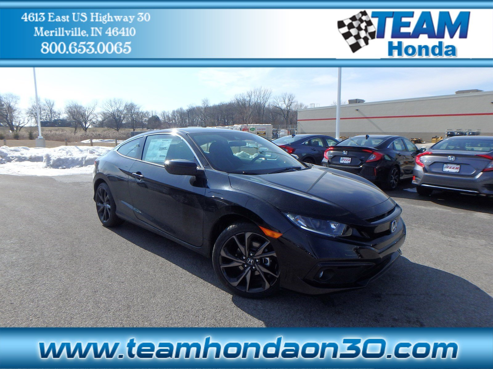 New 2019 Honda Civic Coupe Sport 2dr Car In Merrillville 12290