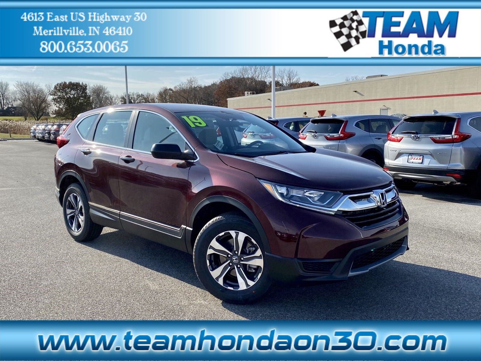 New Honda Cr V 2019 Merrillville In