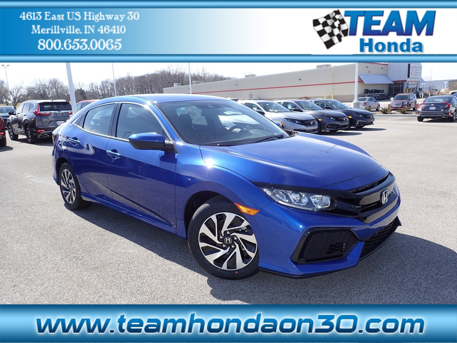 Honda Civic New >> New 2019 Honda Civic Hatchback Lx