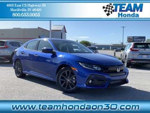 New 2020 Honda Civic Hatchback EX